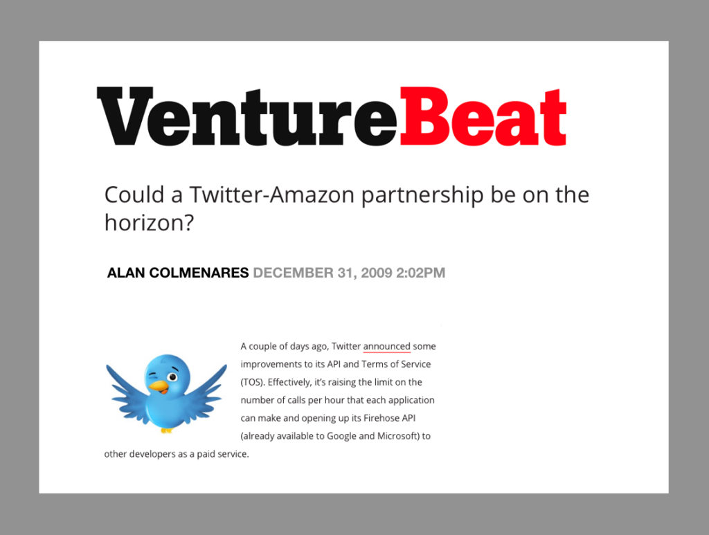 Once Again, Will Amazon Buy Twitter? | Tropical Gringo